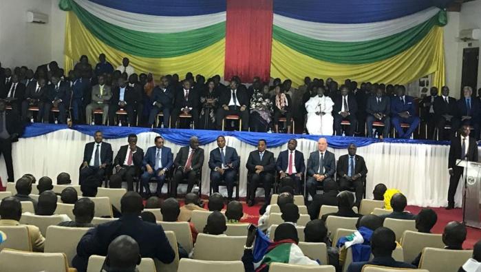 L'Union africaine, Les Nations Unies, et l'Union européenne réitèrent leur appui à la mise en œuvre de l'Accord politique pour la paix et la réconciliation en République centrafricaine (APPR-RCA).