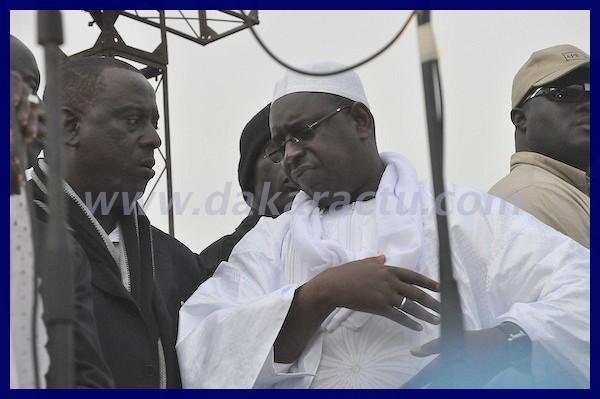 Macky Sall, candidat de la coalition Macky 2012: «Celui qui ne veut pas battre campagne, c'est son problème»