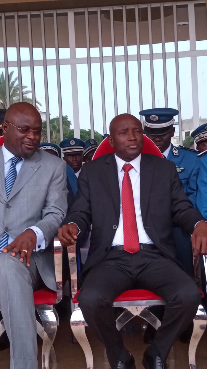 Cérémonie de sortie de la 45e promo de la police nationale :  Le ministre Aly Ngouille Ndiaye procède à la remise d'épaulettes (images)