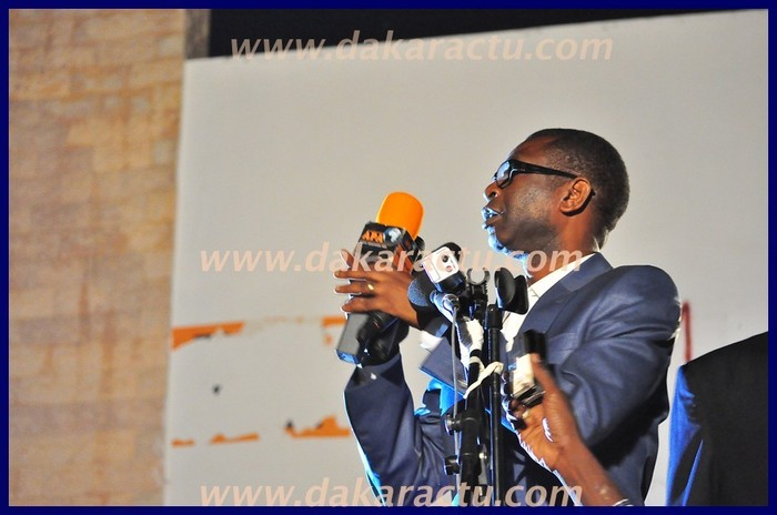Regardez les photos de Youssou Ndour au meeting du M23 à Thiès