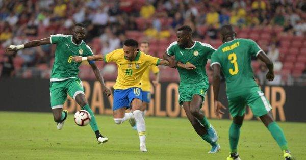 Le Brésil accroché par le Sénégal en amical (1-1)