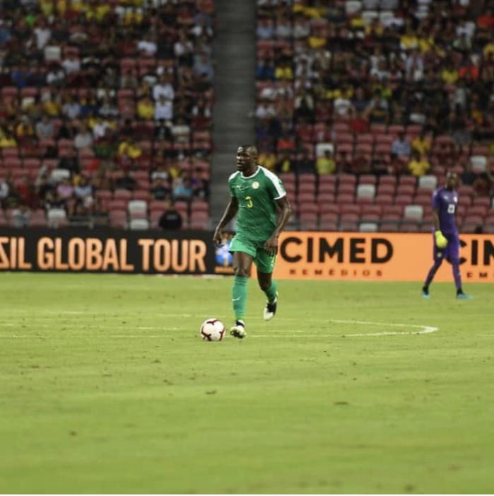 Brésil/Sénégal (1-1) : Kalidou Koulibaly a hérité du brassard de capitaine après la sortie de Kouyaté
