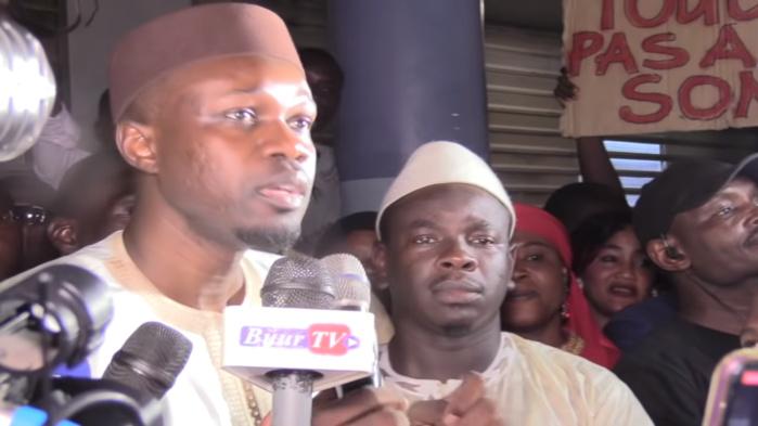 Affaire des 94 milliards FCFA : ''Le seul souhait du régime, c'est de charger mon casier judiciaire et de m'ôter mon mandat de député'' (Ousmane Sonko, Pastef)