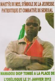 Le M23 a rendu hommage à Mamadou Diop, tombé le 29 janvier dernier