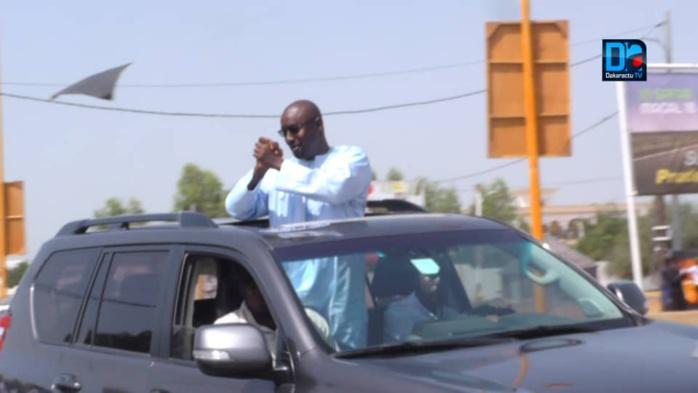(REPORTAGE PHOTOS) Le Président Macky Sall accueilli à Mbacké par les militants de Gallo Bâ, DG de Sogip.Sa