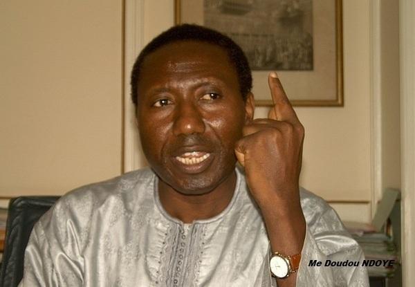 Me Doudou Ndoye classe Wade dans la loge des «trompeurs»