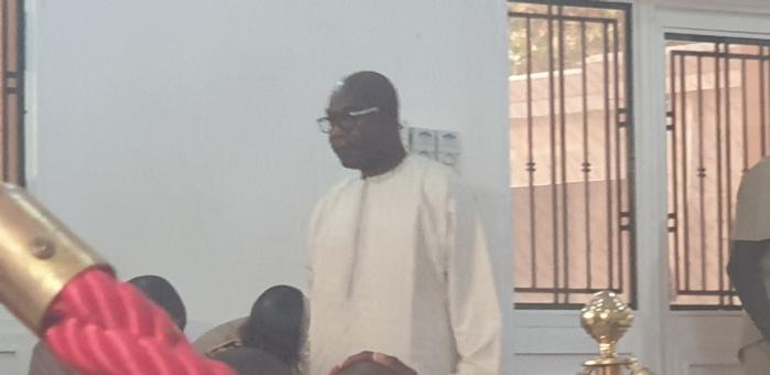 Réception du Président Sall à Touba / La présence remarquée de Serigne Saliou Thioune, Khalife de Cheikh Béthio.