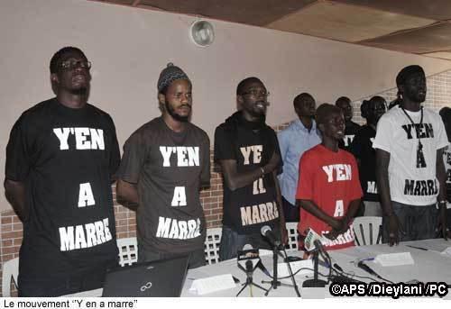 Les leaders de ''Y'en a marre'' appellent les jeunes à promouvoir la paix