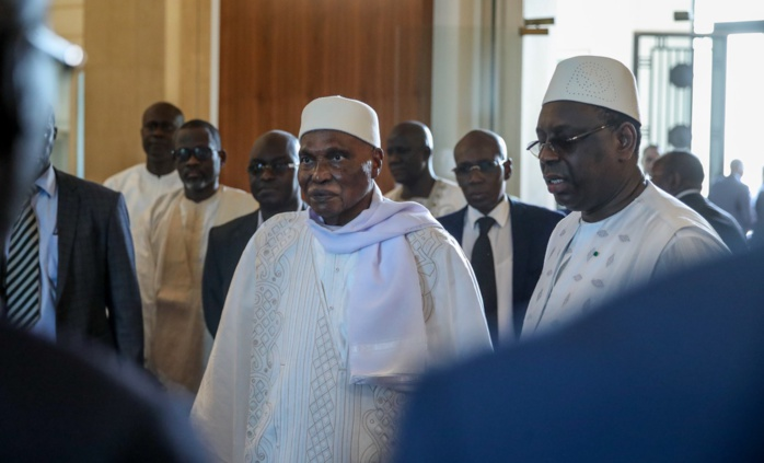 Fin d'audience : Wade encourage Macky Sall dans sa gestion des ressources…