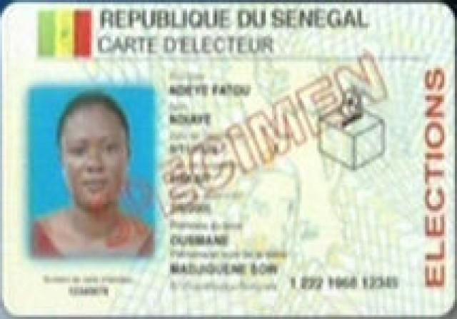 Nguekokhe (Mbour), seuls 494 cartes d'électeur en souffrance
