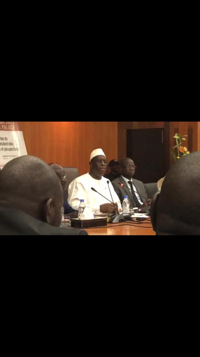 """Macky Sall évoque l'apaisement de l'espace politique : """"Élargir, c'est dans l'intérêt du Sénégal... Mais continuez à répondre à ceux qui nous attaquent"""""""