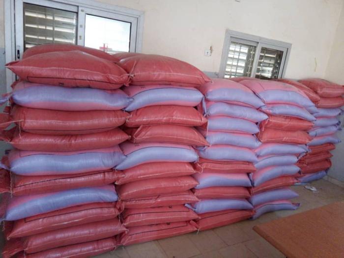 Inondations à Sinthiou Bamambé : Mamadou Talla au chevet des familles sinistrées.