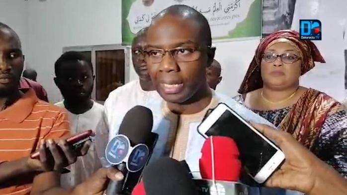 MAGAL 2019 / Sory Kaba annonce un ''jotaay '' avec les Modou-modou en compagnie de Cheikh Bass à Touba.
