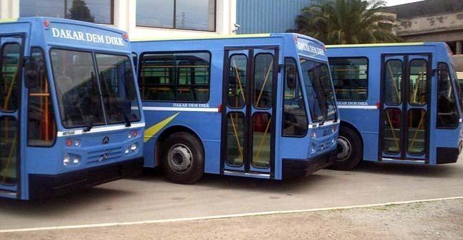 Dakar Dem Dik met en circulation 100 nouveaux bus