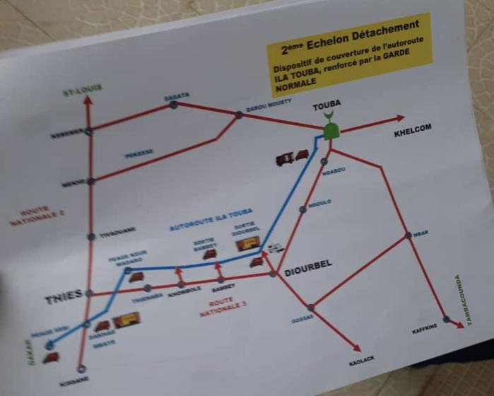Magal de Touba : La sécurité renforcée dans la ville sainte