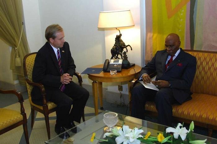 Franche explication entre Abdoulaye Wade et l'ambassadeur américain, hier au palais (Par Cheikh Yérim Seck)