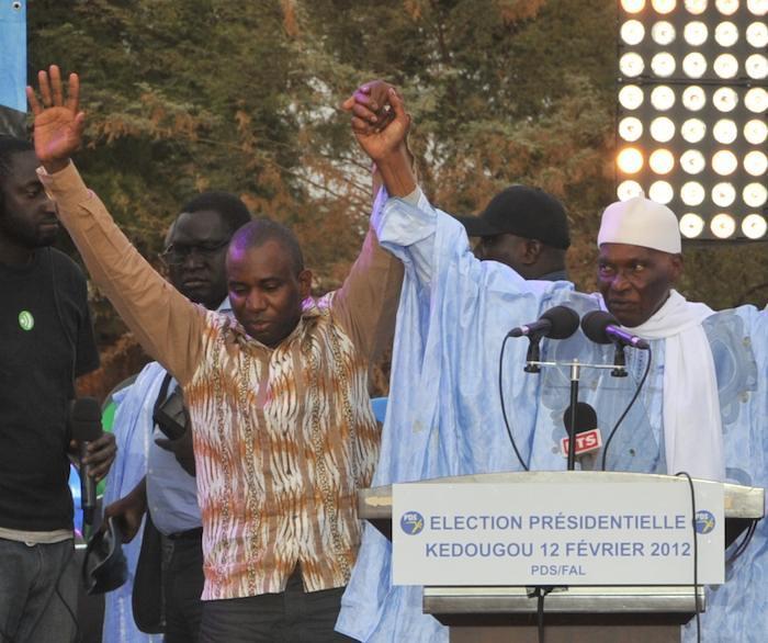Rébellion ouverte de Guirassy contre Wade à Kédougou