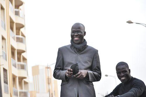 Cheikh Bamba Dieye à la Place de l'Indépendance