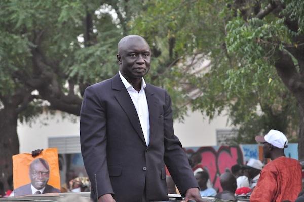 Idrissa Seck, arrivé au rond-point de Sandaga, parle