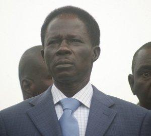 Mansour Sy Djamil, Ibrahima Fall et Cheikh Bamba Dièye à la Place de l'Indépendance