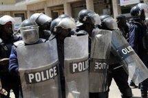 Dernière minute: un engin n'appartenant pas à la police à la Place de l'Indépendance.