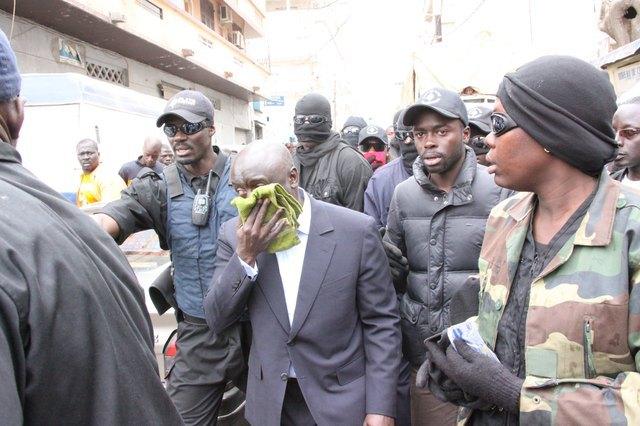 Photos : Les images exclusives de Idrissa Seck qui a reçu une grenade lacrymogène