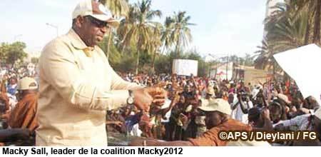 La coalition Macky2012 pas prête à boycotter l'élection (directoire)