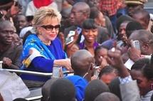 Après l'accueil mouvementé à Nguéniène, Viviane Wade a repris la route pour Dakar