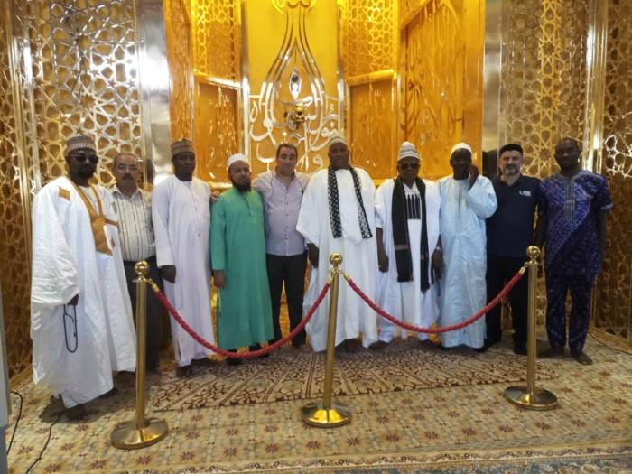 Les invités du Magal Touba 2019 visitent la Mosquée Massalikoul Jinaan ( IMAGES )