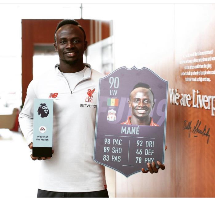 Ballon d'or France Football 2019 : Sadio Mané parmi les 30 nominés, une troisième fois consécutive