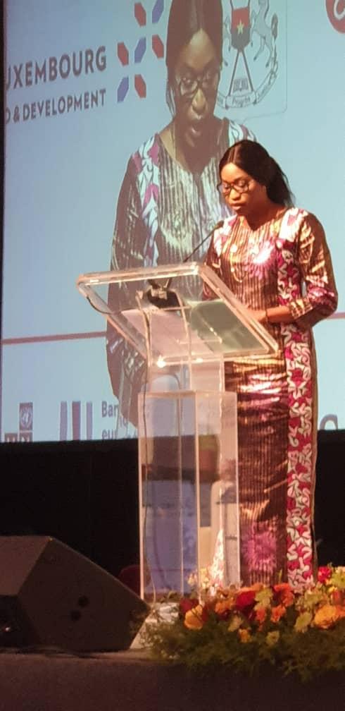 Zahra iyane Thiam à la Semaine Africaine de la Microfinance (sam) à Ouagadougou : « la SAM doit avoir l'ambition de devenir une plateforme africaine commune de réflexions et d'échanges entre tous les praticiens de la microfinance »
