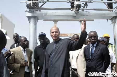 Karim Wade : ''Les délestages sont défintivement derrière nous''