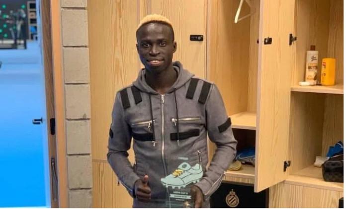 Belgique : Krépin Diatta élu joueur du mois de septembre