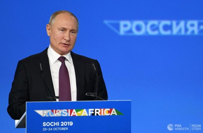 Vladmir Poutine au sommet de Sotchi : « Beaucoup de pays sont confrontés aux conséquences de ce qu'on appelle le 'Printemps arabe' »