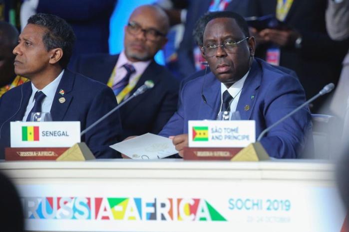 "Sotchi (Russie) : Macky Sall évoque ""ce qui transformera l'Afrique …"""