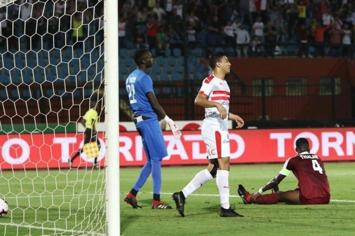 Préliminaires Ligue des Champions : Génération foot éliminée par Zamalek (2-1, aller : 1-0, retour)