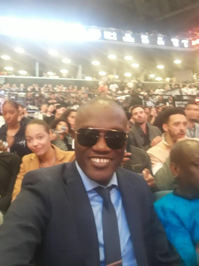 En studio à Las Vegas, Alioune Mbaye Nder a assisté au match de Gorgui Sy Dieng...