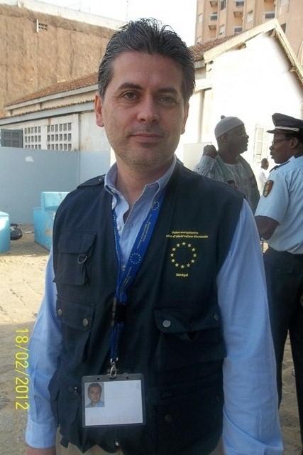 """""""Il est de la responsabilité des partis politiques à suivre le processus électoral de près"""" Tommaso Caprioglio, Chef Adjoint de la mission des Observateurs de L'UE"""