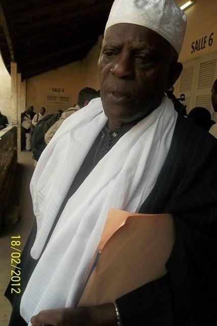 Amar Sokhna Diop, représentant de la coalition Bennoo Ak Tanor, ne cache pas son mécontentement face au refus de mettre à la disposition de sa coalition la liste de votants pour contrôle