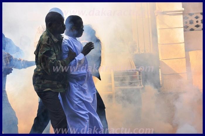 Dernière minute: Ibrahima Fall reste sur place en dépit de la charge des forces de l'ordre