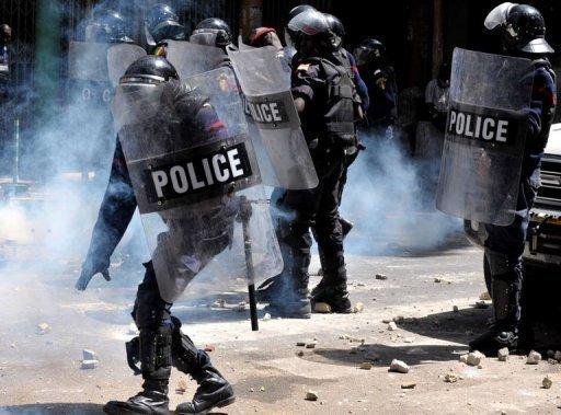 Dernière minute: Un manifestant blessé à l'oeil à Rufisque