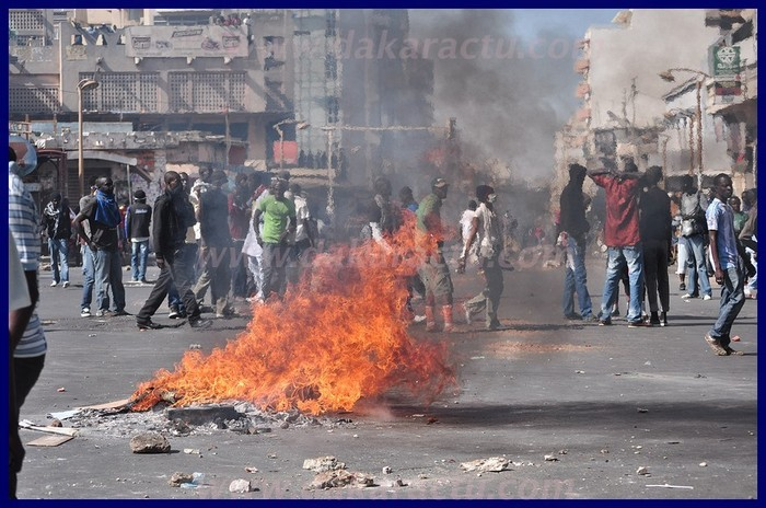 Regardez les images-choc de la manifestation de ce 19 février