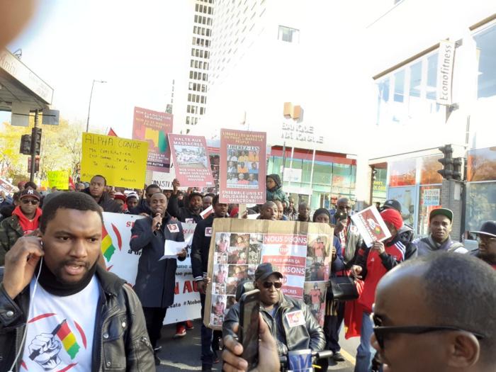 Canada : Des ressortissants guinéens accusent Alpha Condé de viser les peulhs.