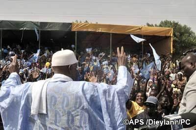 Guinguinéo : Abdoulaye Wade promet la construction de rails solides