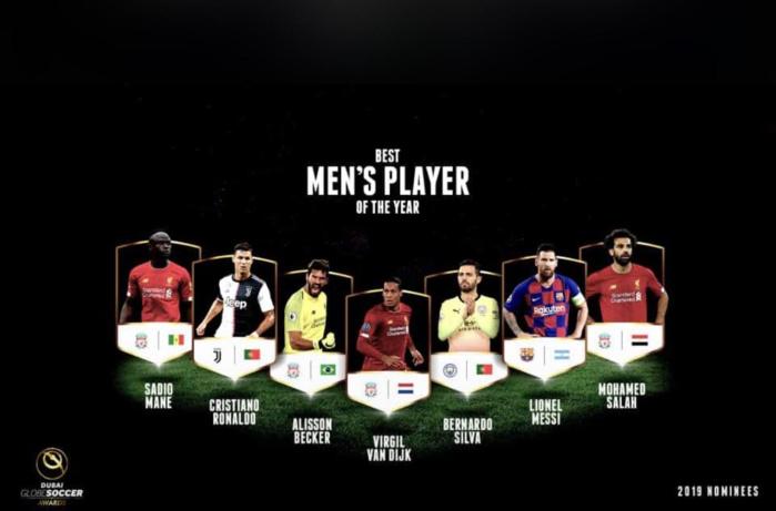 Sadio Mané parmi les 7 nominés pour le titre de meilleur joueur aux Globe Soccer Awards