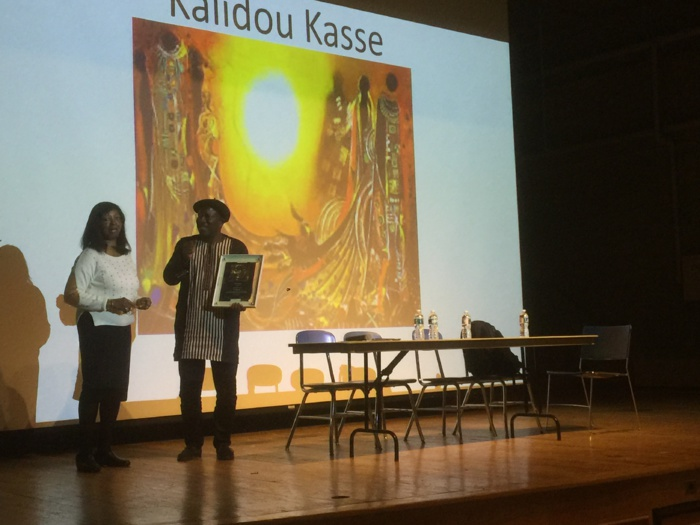 États-Unis : L'artiste-plasticien Kalidou Kassé distingué au Forum Annuel Panafricain de Boston