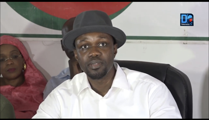 Ousmane Sonko : «Macky Sall fait de la diversion. En février 2024, il ne sera plus président de ce pays. Il doit être conjugué au passé»