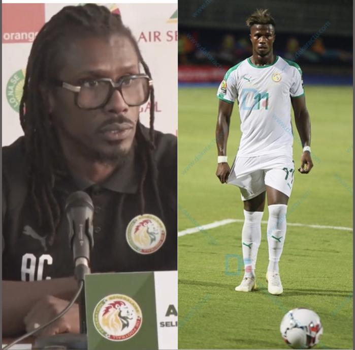 Éliminatoires CAN 2021 : Diao Keïta Baldé absent du groupe pour des raisons familiales. (Aliou Cissé)