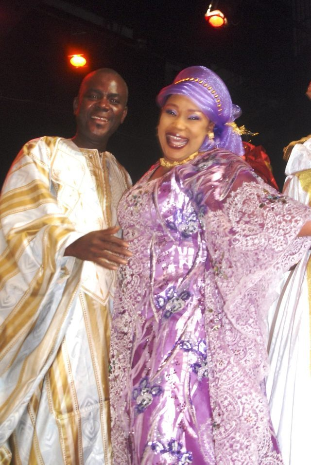 Photo : Voici Becaye Mbaye et sa femme