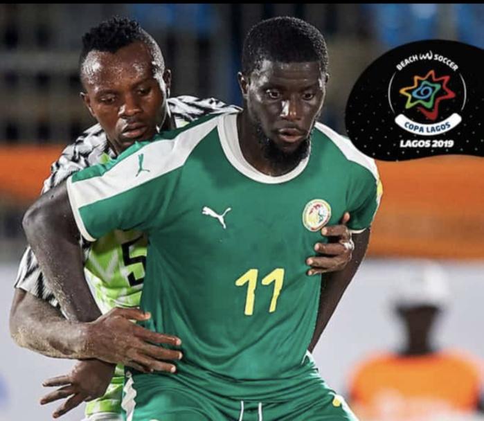 """Beach soccer / Copa Lagos : Deuxième victoire d'affilée pour les """"Lions"""" qui remportent le tournoi (Sénégal 5 - 2 Nigéria)"""